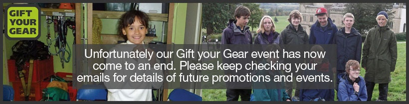 Rohan - Gift your Gear is back for March 2013. Bring your gear to any Rohan store this March and receive money off a new purchase.