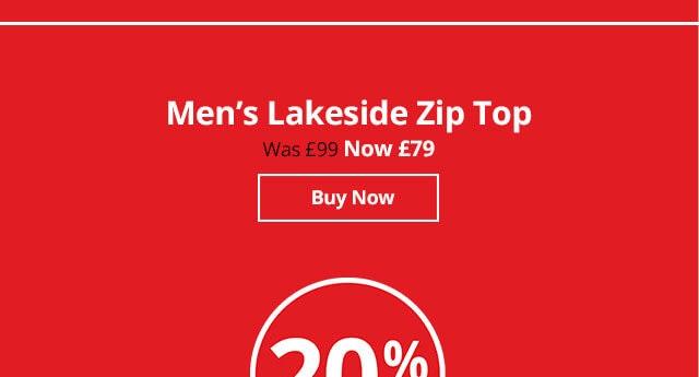 Shop Men's Lakeside Zip Top