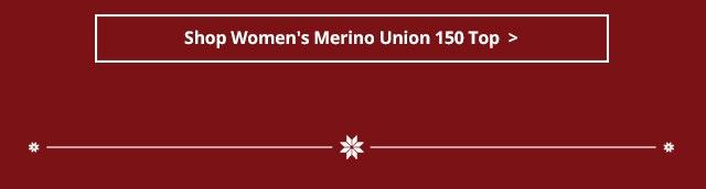 Shop Women's Merino Union 150 Top