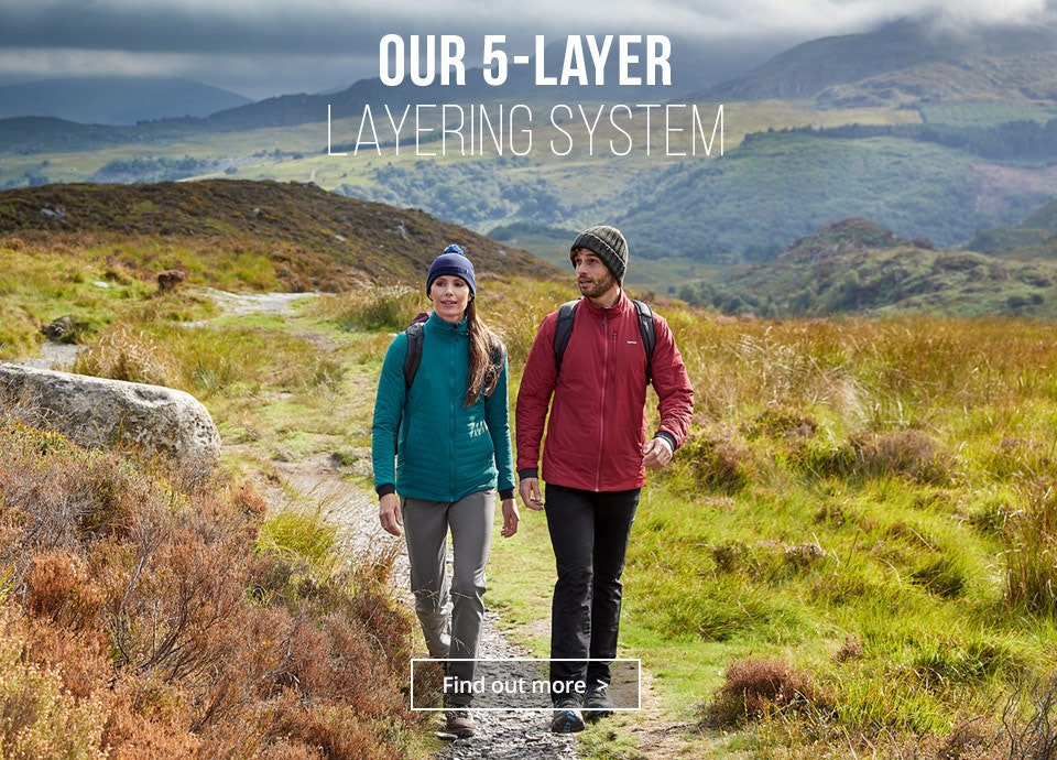 Our 5-layer Layering System