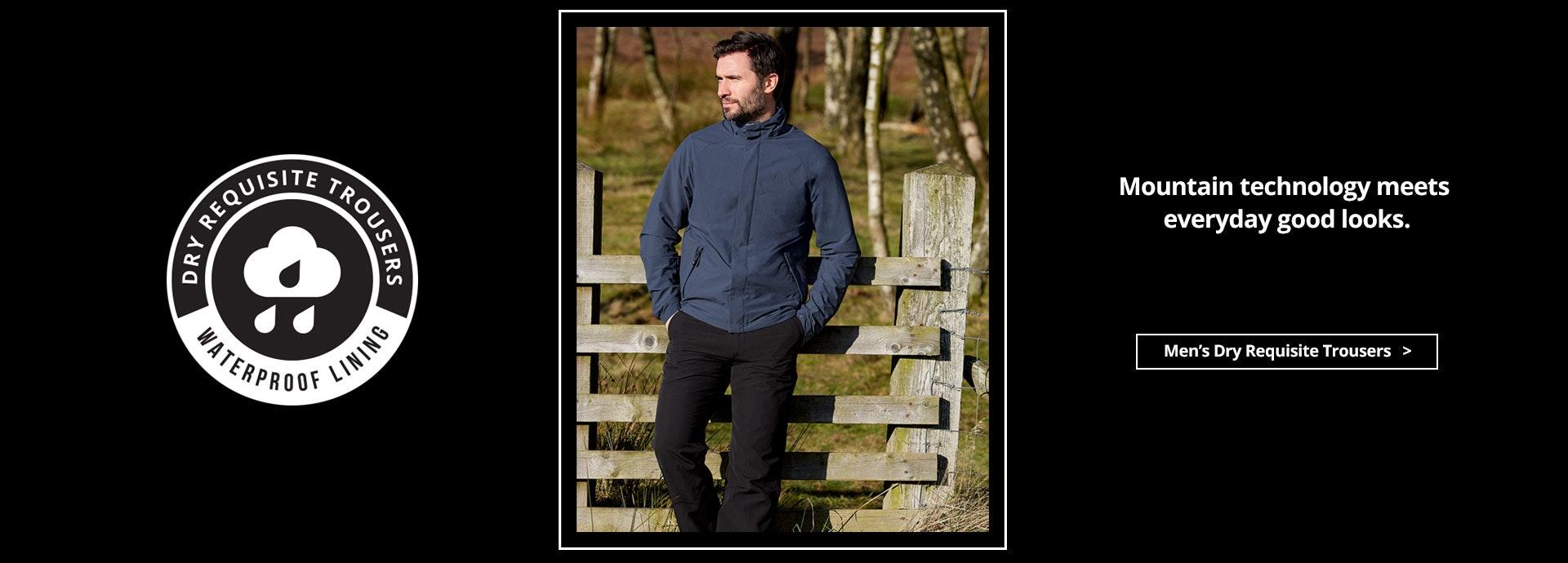 Men's Dry Requisite Trousers