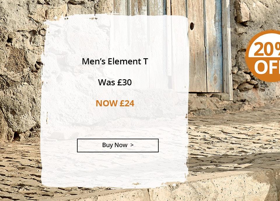Shop Men's Element T
