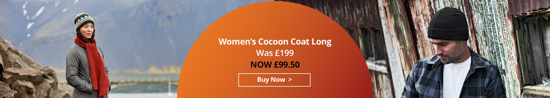 Shop Women's Cocoon Coat Long