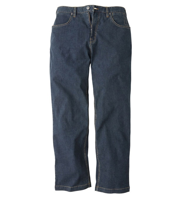 Jeans Plus - Classic denim jeans with a technical edge