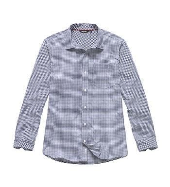 Technical, smart-casual shirt.
