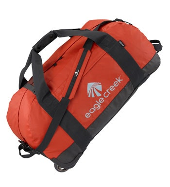 Eagle Creek - rugged 105 litre rolling kit bag.