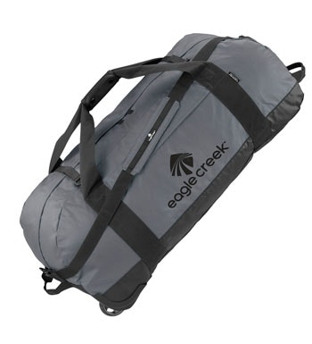 Eagle Creek - rugged 128 litre rolling kit bag.