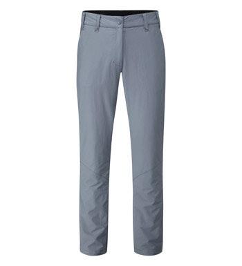 Waterproof, breathable walking trousers.