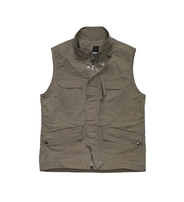 Freight Vest - Multi-pocketed travel vest.