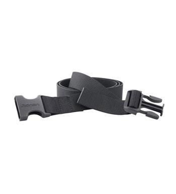 Tough, quick-drying webbing belt.