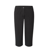 Technical capri trousers.