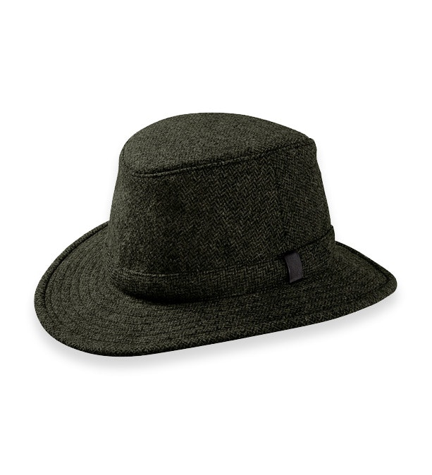 Tilley MD Curved Brim Winter Hat - Tec-Wool three-season hat.
