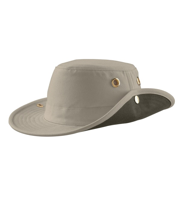 Tilley Medium Brim Hat - Medium brim hat with side snaps.
