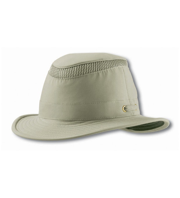 Tilley Medium Curved Brim Lightweight Airflo Hat - Tough, UV-protective, medium brim hat.