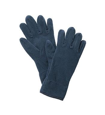 Lightweight, technical fleece gloves.