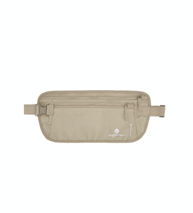 RFID Blocker Money Belt DLX - Eagle Creek - lightweight under-clothing money belt.