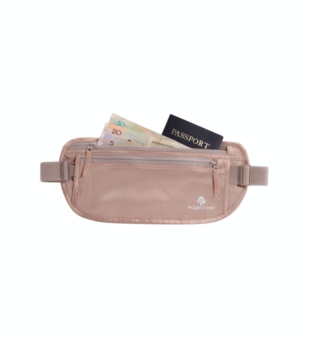 Silk Undercover™ Money Belt - Eagle Creek - waist-worn silk under-clothing belt.