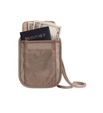 Eagle Creek - hide-away neck pouch.