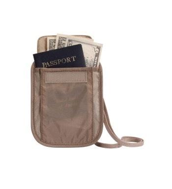 Eagle Creek™ - hide-away neck pouch.