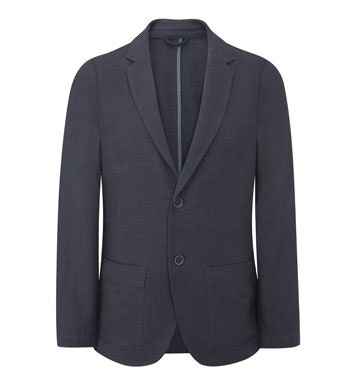 Technical, smart/casual linen jacket.