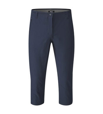 Versatile, high-stretch capri trousers.
