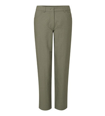 Technical, tapered ankle-length trousers.