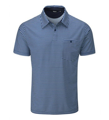 Technical, high wicking, short sleeve polo.