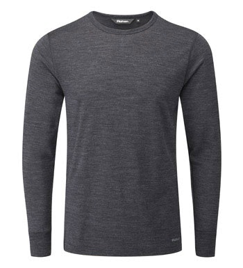 Merino-blend technical base layer.