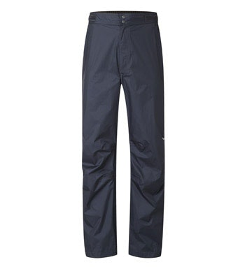 Ultra-light waterproof trousers or over trousers.