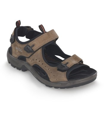 Rugged sandals for varied terrain.