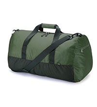 Lightweight, packable 50L duffel bag.