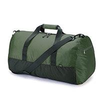 Lightweight, packable 50L duffel bag.