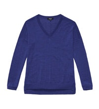 Luxurious, relaxed fit 100% merino top.
