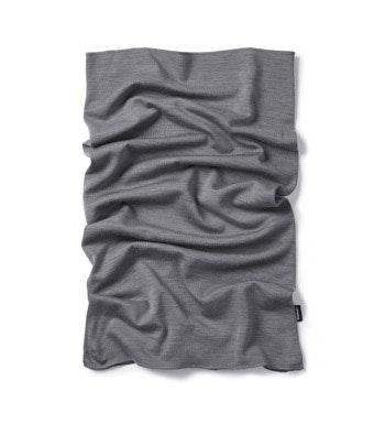 Soft merino and polyester blend necktube.