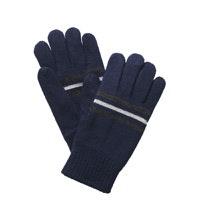 Reflective, fleece lined gloves.
