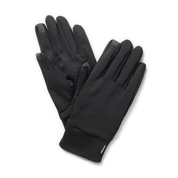 Lightweight gloves with touch screen compatibility.