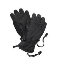 Durable, fleece-lined waterproof gloves.