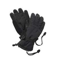 Durable, fleece-lined waterproof gloves.
