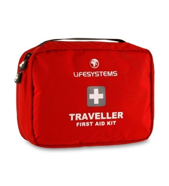 32-piece first aid kit for travelling.