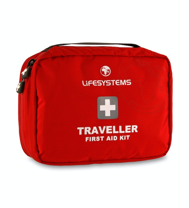 Lifesystems® Traveller First Aid Kit - 32-piece first aid kit for travelling.