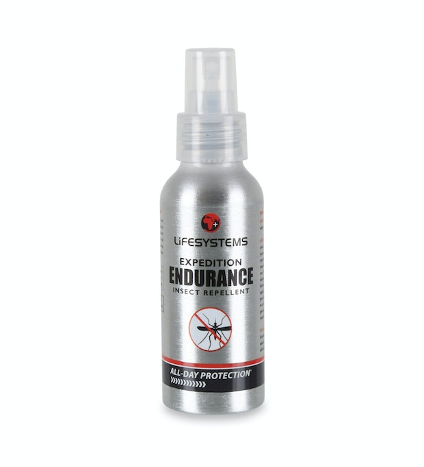 Lifesystems® Expedition Endurance DEET Insect Repellent 100ml spray - 100ml insect repellent 20-34% DEET spray.