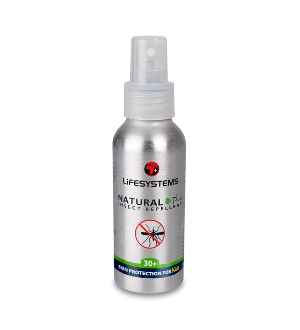 Lifesystems® Natural 30+ Insect Repellent Spray 100ml - Natural 100ml spray insect repellent.