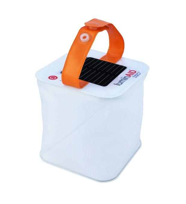 Luminaid Packlite 12 - Compact, solar-powered, portable lantern.