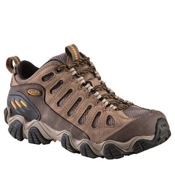 Waterproof, low-cut approach shoe.