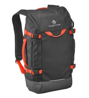 Eagle Creek™ - secure, padded, water repellent backpack.