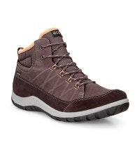 Mid-cut, waterproof, nubuck walking boot.