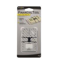 7-in-1 multi tool, slim-line wallet.