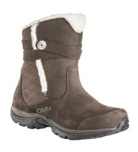 Waterproof, insulated, mid-cut boot.