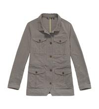 Safari-inspired, multi-pocket, canvas jacket.