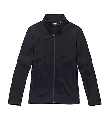 Warm, water-repellent stretch jacket.
